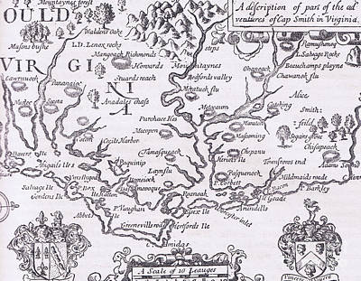 Designs Similar to Vintage Map Of Virginia
