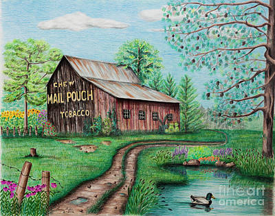 Designs Similar to Mail Pouch Tobacco Barn