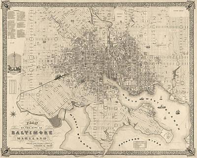 Baltimore Drawings Prints
