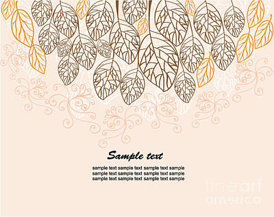 Designs Similar to Background With Leaves