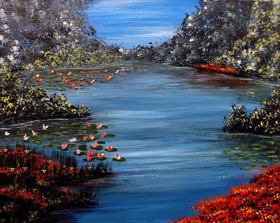 Water Lilly Original Artwork