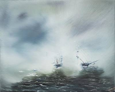 Fog At Sea Prints