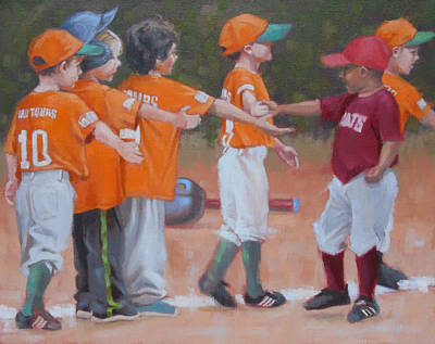 T- Ball Paintings