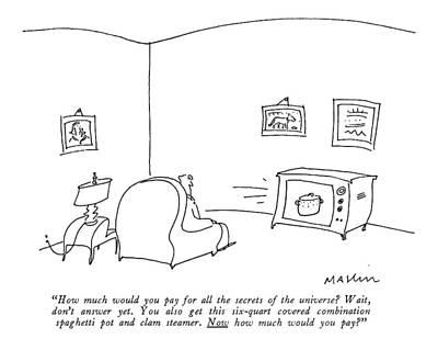 Tv Commercials Art Prints