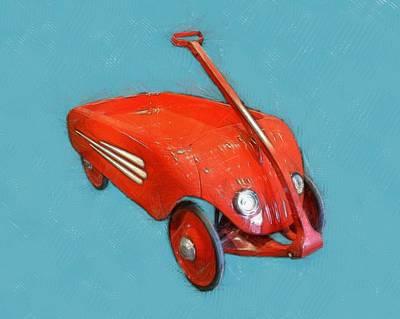 Retro Toy Cars - Wall Art