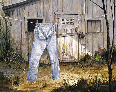 Clothes Line Paintings