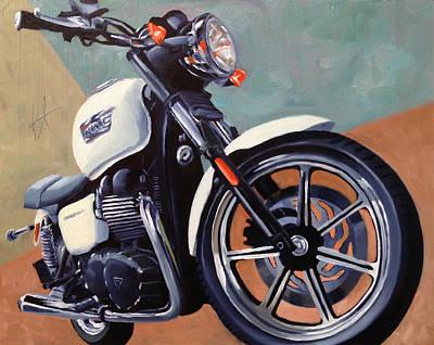 Triumph Bonneville Original Artwork