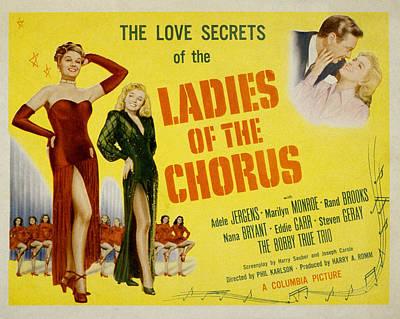 Ladies Of The Chorus Art