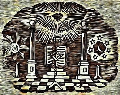 Designs Similar to Masonic Symbolism Reworked 1