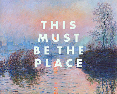 Designs Similar to This Must Be The Place Print
