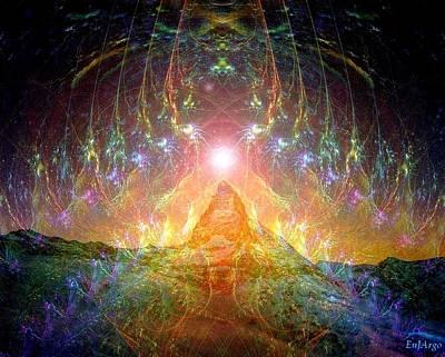 Matterhorn Mixed Media Original Artwork