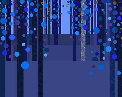 Designs Similar to Abstract Dreamscape - Blues