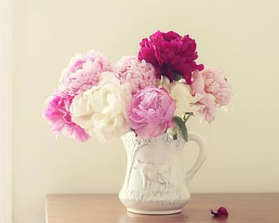 Shabby Chic Roses Art