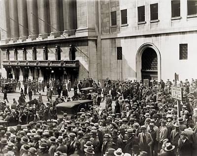 Stock Market Crash Of 1929 Prints