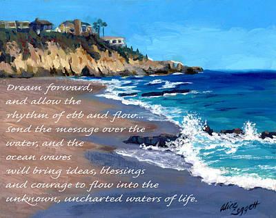 Laguna Beach Digital Art