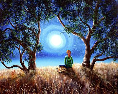 Under A Tree Original Artwork