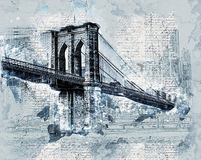 Designs Similar to Iconic Brooklyn Bridge
