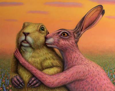 Designs Similar to Prairie Dog And Rabbit Couple
