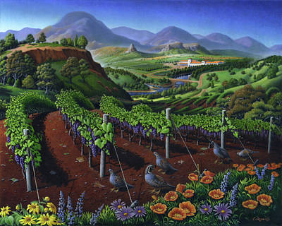 a52c1fb6c47 Northern California Wine Country Paintings