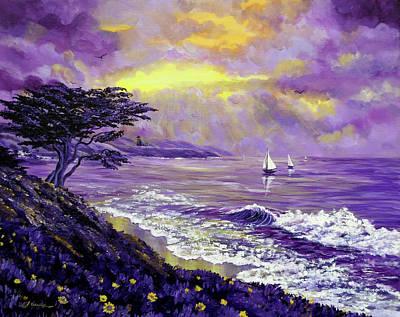 Santa Cruz Sailboat Original Artwork