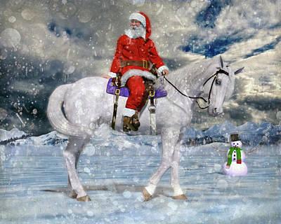 Designs Similar to Santa Rides To Town
