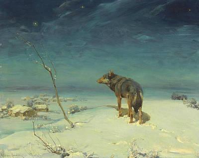 Lone Wolf Prints