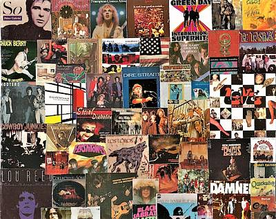 Designs Similar to Classic Rock Lp Collage 12