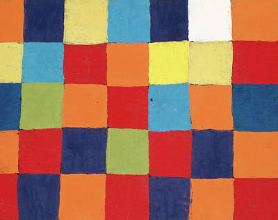 Designs Similar to Colour Table, Qu by Paul Klee