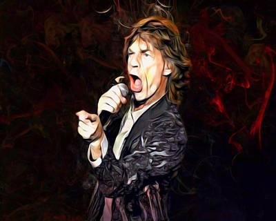 Designs Similar to Mick Jagger Portrait