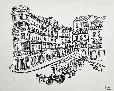 Designs Similar to Piazza Di Spagna As Seen