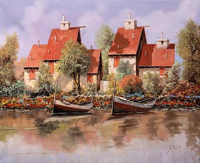 Row Boat Original Artwork