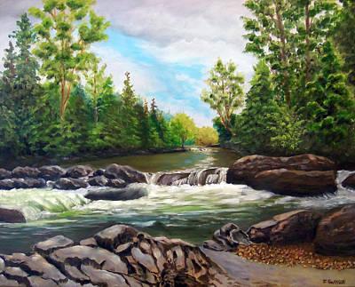 Greenbrier River Original Artwork