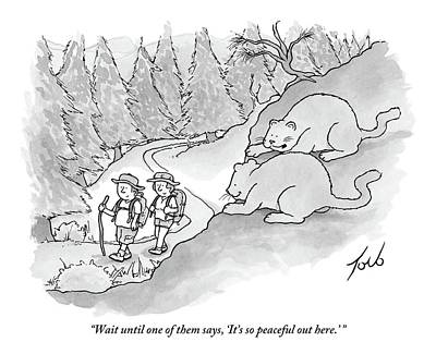 Hiking Drawings