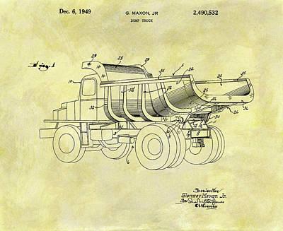 Designs Similar to 1949 Dump Truck Patent Design