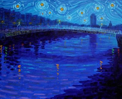 Designs Similar to Starry Night In Dublin