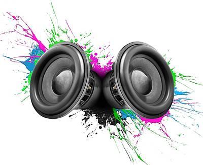 Designs Similar to Music Speakers Colorful Design