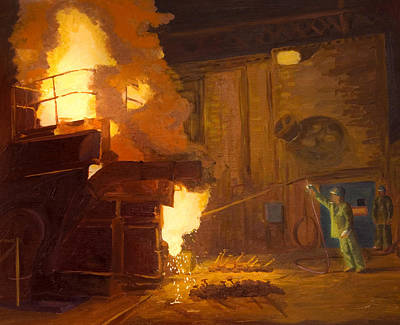 Foundry Paintings Prints