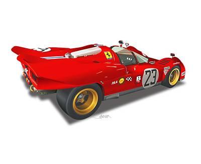 Designs Similar to Ferrari 512 Illustration