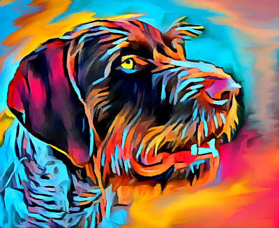 Designs Similar to German Wirehaired Pointer 2