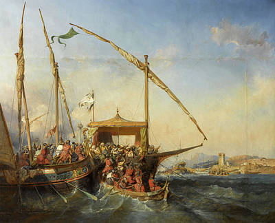 Designs Similar to Naval Battle Of Imbre In 1346