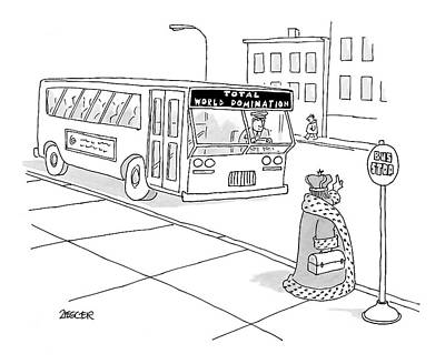 Metro Bus Drawings Fine Art America