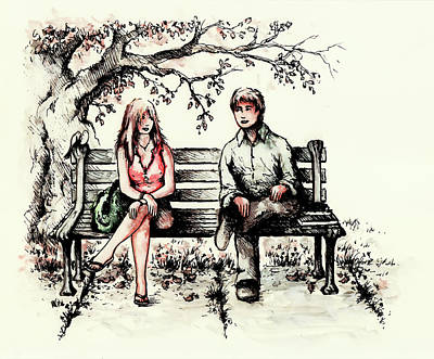 First Love Drawings Prints