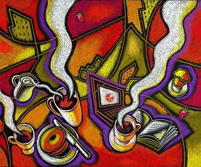 Caffeinated Paintings