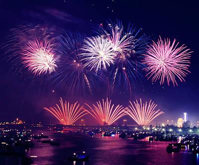 Purple Fireworks Prints