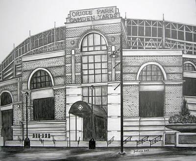 Baltimore Orioles Stadium Drawings