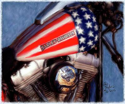 Fourth Of July Mixed Media Original Artwork