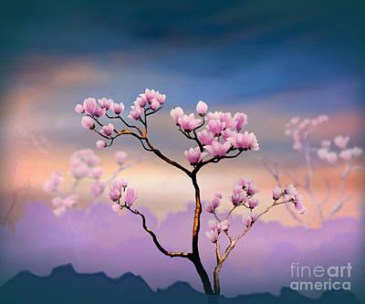 Designs Similar to Pink Magnolia - Bright Version