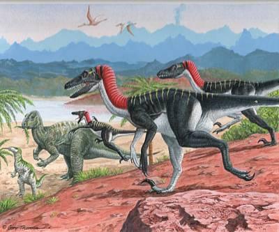 Iguanadon Paintings