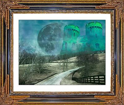 Mystical Landscape Mixed Media Original Artwork