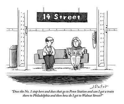 Philadelphia Street Drawings